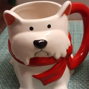 Set of Matching Dog Mugs